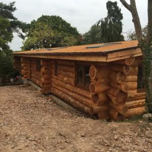 Corten Corrugated Roof