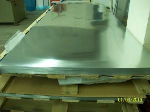 Zinc Sheets on Pallet