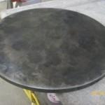 dimpled-circular-top-with-light-&-dark-patina