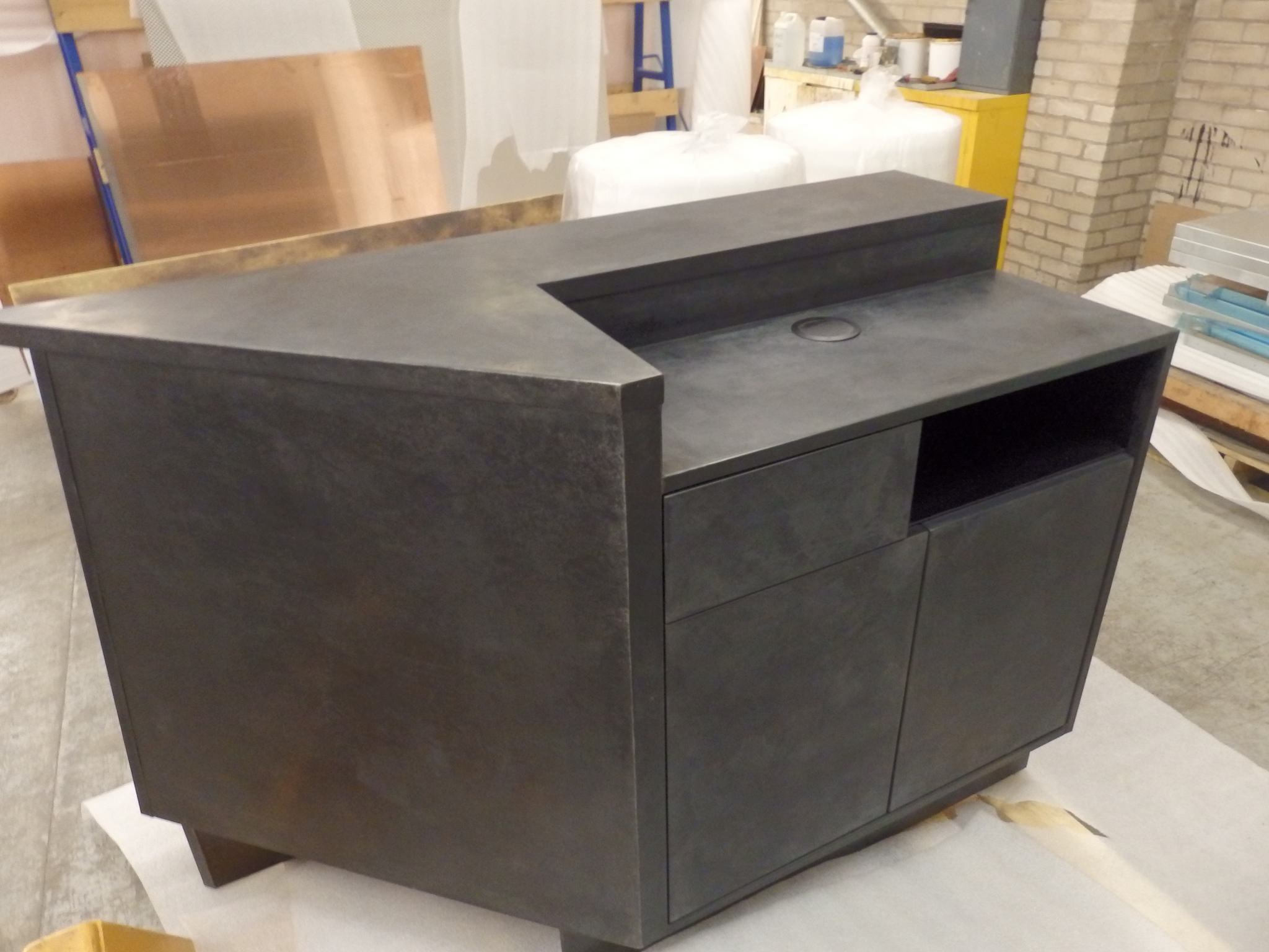 zinc-reception-desk