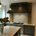 aged-patina-brass-kitchen-extractor-hood