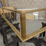 aged-patina-brass-display-counter-surround