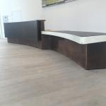 aged-patina-copper-reception-desk