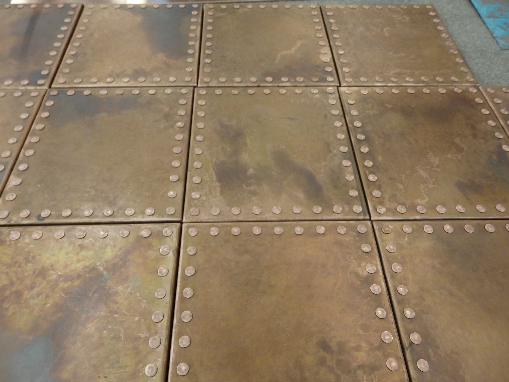 Aged Copper Wall Tiles Metal Sheets Limited