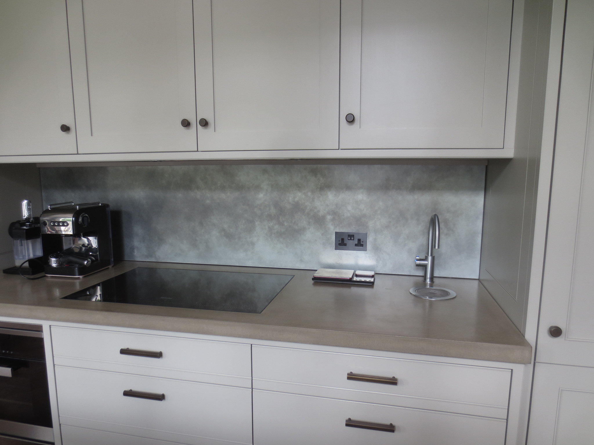 - Light Patina Zinc Backsplash Metal Sheets Limited