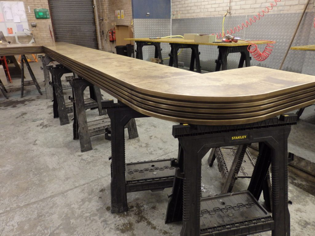 bespoke-aged-brass-bar-top